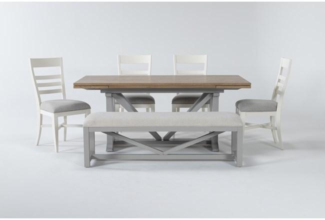 Ozzie White 6 Piece Dining Set - 360