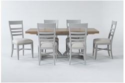 Ozzie Grey 7 Piece Dining Set