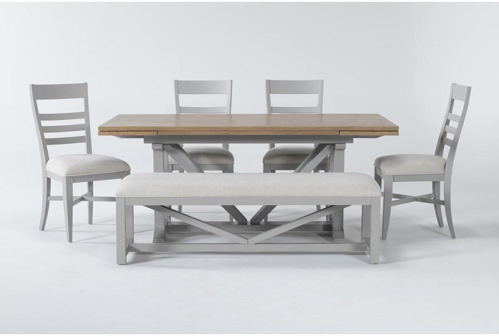 Ozzie Grey 6 Piece Dining Set