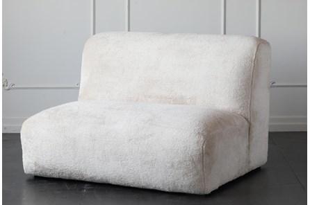 Cream Faux Fur 48