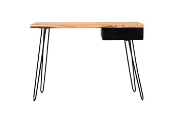 "Tapered Metal Leg 43"" Desk"