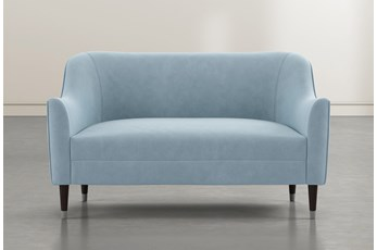 Shape Light Blue Settee