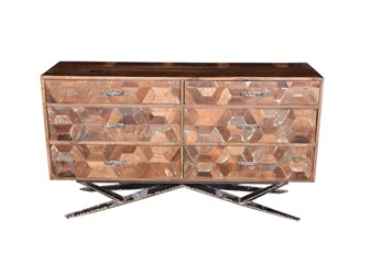 Reclaimed 6 Drawer Dresser