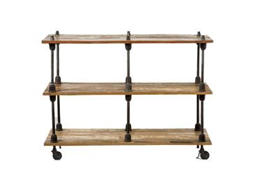 Iron Wooden Shelf