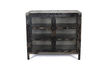 """Iron And Glass 36"""" Sideboard"""