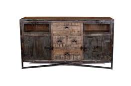 "Iron And Wood 67"" Sideboard"