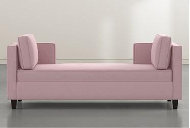 Circa Pink Velvet Settee