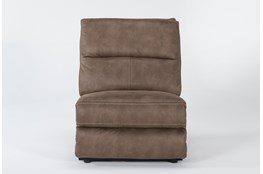 Palmer Brown Armless Recliner