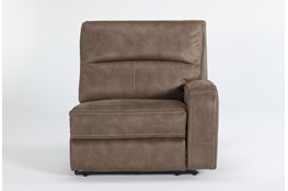 Palmer Brown Right Arm Facing Power Recliner With Power Headrest & Usb