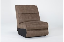 Palmer Brown Armless Chair