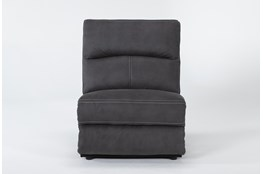 Palmer Grey Armless Chair