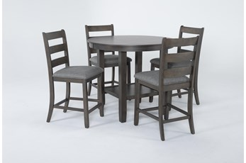Gus 5 Piece Counter Height Set