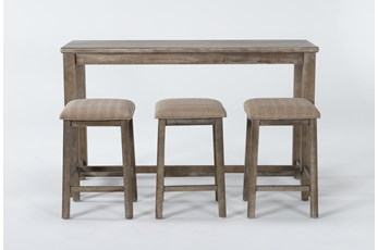 Issac 4 Piece Set Console Tables And Stools