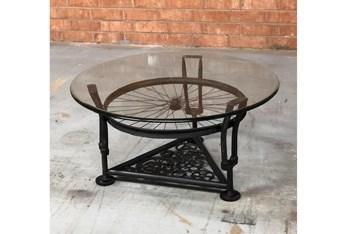 Bicycle Spoke Coffee Table