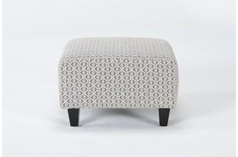 Perch II Fabric Small Square Ottoman