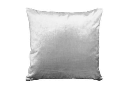 Accent Pillow-Lustrous Silver 20X20 - Main