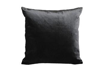 Accent Pillow-Lustrous Black 20X20
