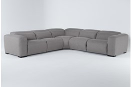 "Morro Bay 5 Piece 130"" Power Reclining Sectional With Power Headrest"