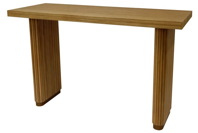 """Natural + Brass 51"""" Console Table - 360"""