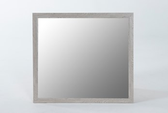 Finley White Mirror