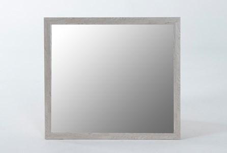 Finley White Mirror - Main