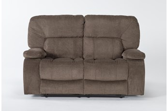 "Chadrick Brown 64"" Reclining Loveseat"