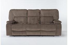 "Chadrick Brown Triple 87"" Reclining Sofa"