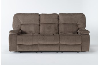 "Chadrick Brown Triple 87"" Reclining Sofa"