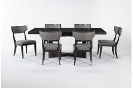 Armani 7 Piece Rectangle Extension Dining Set