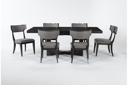 Armani 7 Piece Rectangle Extension Dining Set - Main