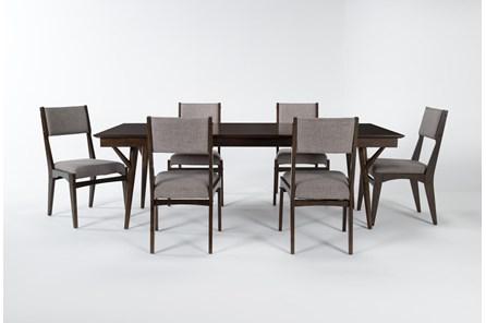 Mirage 7 Piece Rectangle Dining Set - Main