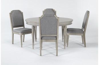 Vinesta 5 Piece Round Dining Set