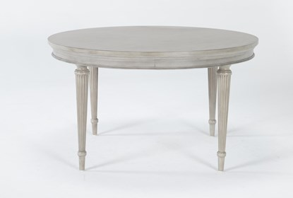 Vinesta Round Dining Table Living Spaces