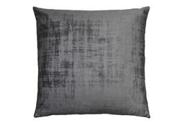 Accent Pillow - Modern Stucco Charcoal 20 X 20