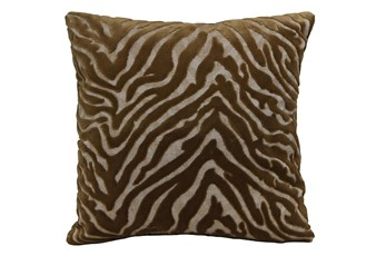 Accent Pillow - Serengeti Tigerseye 18 X 18