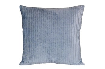 Accent Pillow - Channels Blue Smoke 20 X 20