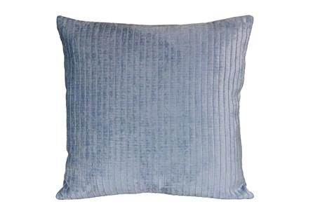 Accent Pillow - Channels Blue Smoke 20 X 20 - Main