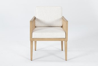 Natural Cane Accent Chair By Nate Berkus And Jeremiah Brent