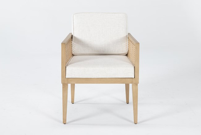 Natural Cane Accent Chair By Nate Berkus And Jeremiah Brent - 360