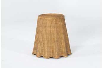 Natural Woven Accent Table By Nate Berkus And Jeremiah Brent