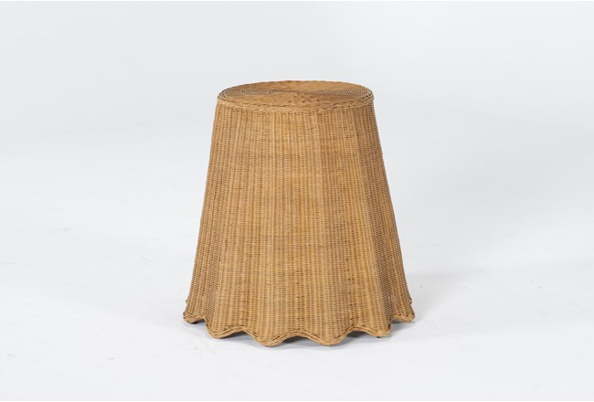 Natural Woven Accent Table By Nate Berkus And Jeremiah Brent - 360
