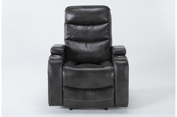 Waylan Flint Home Theater Power Wallaway Recliner With Adjustable Headrest