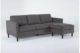 "Aya 89"" Sofa With Reversible Chaise"