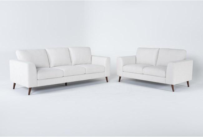 Casper 2 Piece Living Room Set - 360