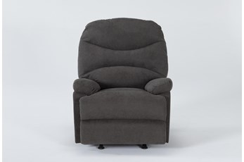 Lark Gravel Grey Rocker Recliner