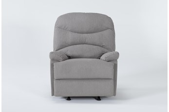 Lark Malta Grey Rocker Recliner