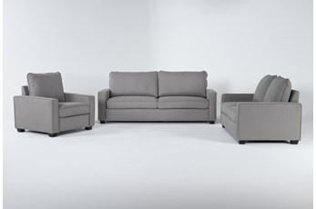 Reid Malta 3 Piece Living Room Set
