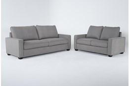 Reid Malta 2 Piece Living Room Set