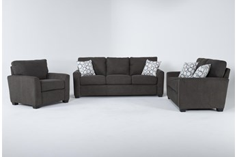 Shea 3 Piece Living Room Set