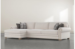 """Chesney 2 Piece 133"""" Sectional With Left Arm Facing Chaise"""